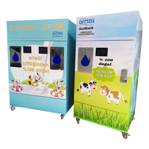 Milk Vending Machine: 400 Lt. (Twin Filling Chamber)