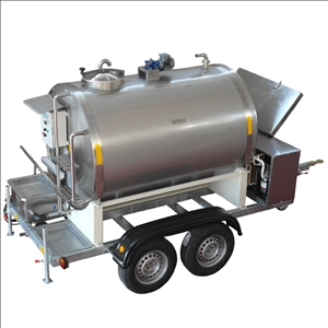 Mobile Milk Cooling Tank