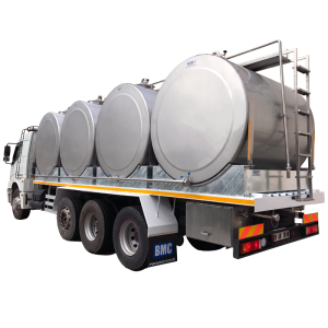 Case Milk Transfer Tanks