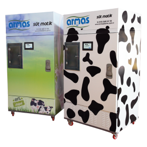Milk Vending Machine: 300 Litres