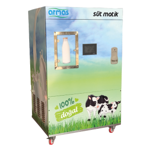 Milk Vending Machine: 200 Litres